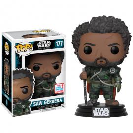 Figura POP! Star Wars Rogue One Saw Gerrera with Hair 2017 Fall Convention Exclusive