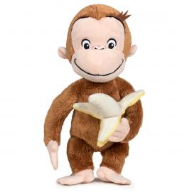 Peluche Curious George Banana soft 18cm