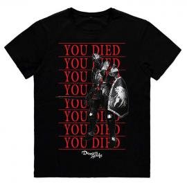 Camiseta You Died Knight Demons Souls