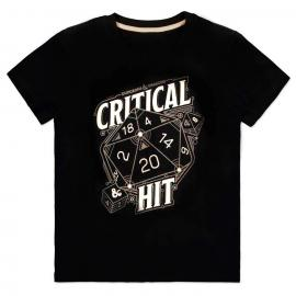 Camiseta Critical Hit Dungeons and Dragons