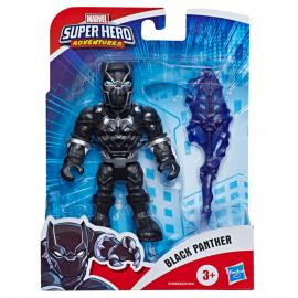 Figura Black Panther Marvel Super Hero Adventures 12,5cm