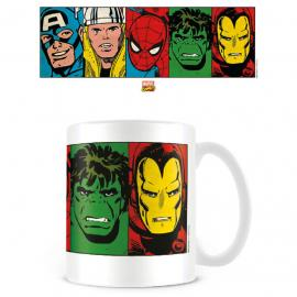 Taza Faces Vengadores Avengers Marvel