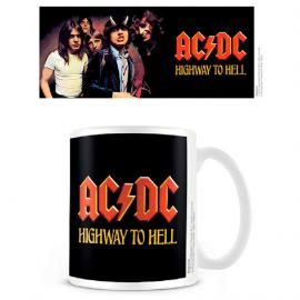 Taza Highway To Hell Coffee ACDC