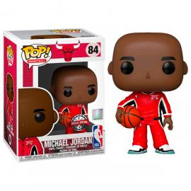 Figura POP NBA Chicago Bulls Michael Jordan Red Warm Ups Exclusive