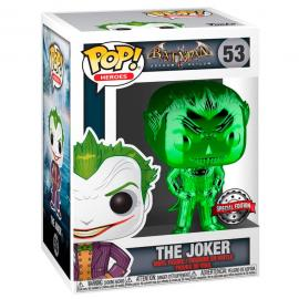 Figura POP DC Comics Batman The Joker Metallic Exclusive