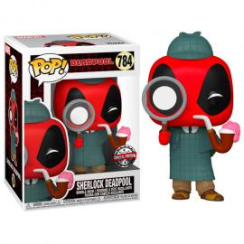 Figura POP Marvel Deadpool 30th Sherlock Deadpool Exclusive