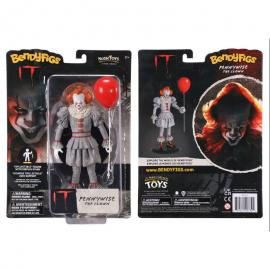 Figura Maleable Bendyfigs Pennywise IT 19 cm