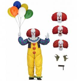 Figura Ultimate Pennywise 1990 IT 18cm