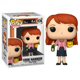 Figura POP The Office Erin with Happy Box and Champagne