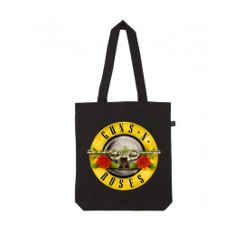 BOLSO DE TELA GUNS AND ROSES (LOGO)