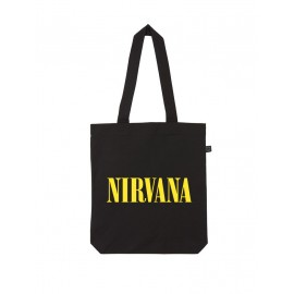 BOLSO DE TELA NIRVANA (SMILEY LOGO)