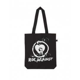 BOLSO DE TELA RISE AGAINST (LOGO)